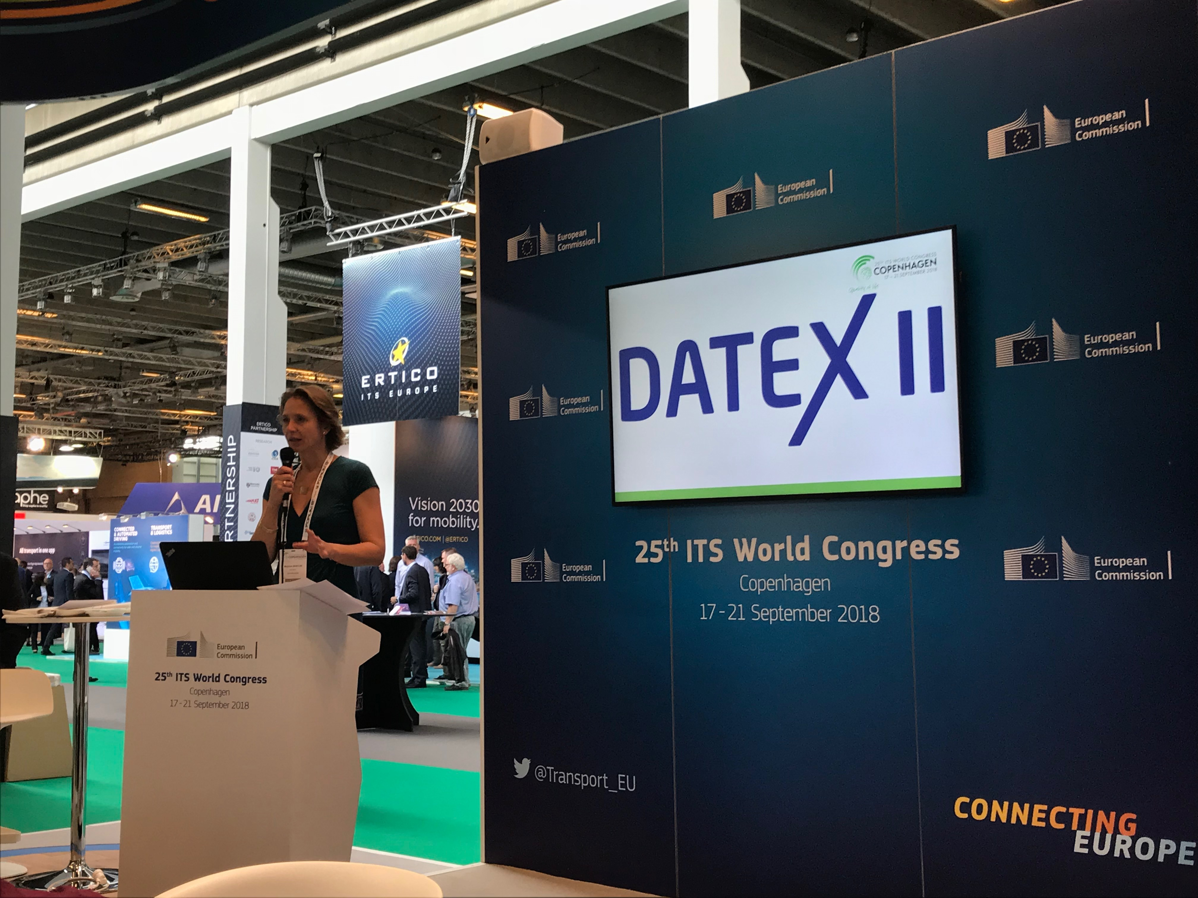DATEX II at ITS World Congress
